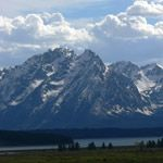 The Grand Teton Mountains...one of many of God's majestic places on earth.