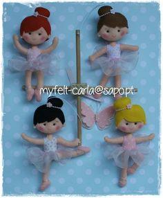 Ballerina Mobile ballerine bambino presepe di feltcutemobile