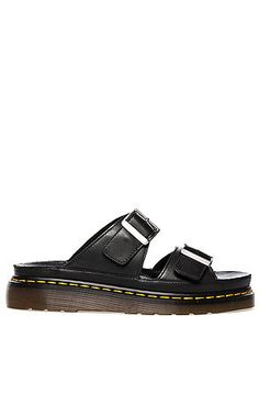 Dr. Martens Sandal The Cyprus in Black $110 USE CODE NEWGEAR14 for 20% OFF!