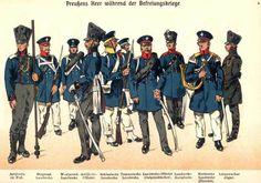 L'infanterie prussienne à Waterloo – micheldamiens - landwehr