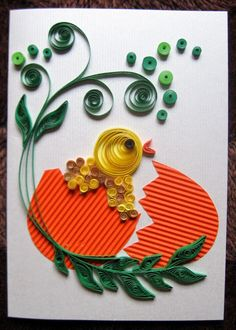 Quilling M handmade crafts and hobbies