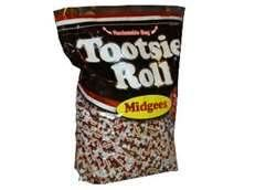 I could eat the whole bag. Tootsie Rolls never get old.<3
