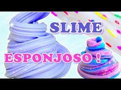 Hola! Haz slime esponjoso, crunchy slime (slime crujiente) y slime galaxia super facil!! Este DIY slime casero es sin borax y sin almidon :) Ojala les guste!...