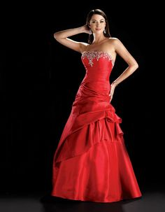 Amazing sleeveless ball gown floor-length home coming dress