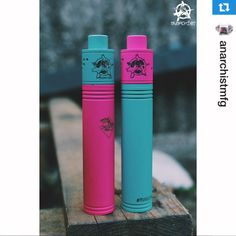 I need this in my life! But the mod in Tiffany blue and the anarchist atty in polished steel