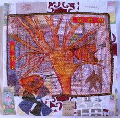 Anne Kelly Textiles - Cloth Collages
