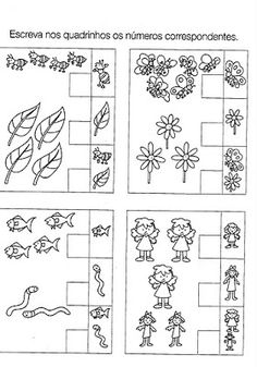 Atividades para turminha do jardim - 4 a 5 anos