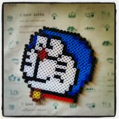 Doraemon perler beads by afaxiong