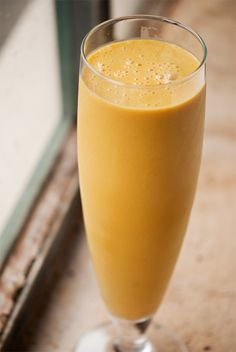 mmm pumpkin smoothie. need to try this
