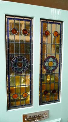 39 New ideas for stained glass front door victorian pine Stained Glass Door, Stained Glass Designs, Stained Glass Panels, Stained Glass Patterns, Glass Front Door, Sliding Glass Door, Glass Doors, Victorian Front Doors, Barn Door Designs