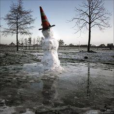 Snowman's Tears Melting Pot