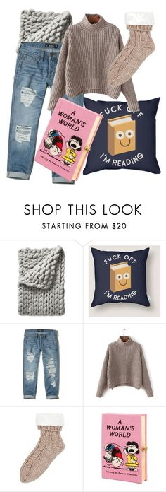 """""""hygge day"""" by evelinsabjan on Polyvore featuring Serena & Lily, Hollister Co. and Olympia Le-Tan"""