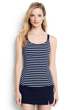 Women's+Scoopneck+Tankini+Top+from+Lands'+End