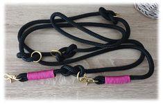 Hundeleine TAU - mehrfach verstellbar von Doggywelt auf Etsy Vintage, Bracelets, Etsy, Jewelry, Fashion, Linen Fabric, Schmuck, Moda, Jewlery