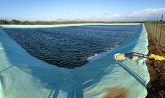 Lago di mq 27000 in poliolefina da 1,50 mm