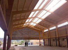 THERMOCHIP® cubre la pista municipal polideportiva del ayuntamiento de Aldover   #THERMOCHIP #paneles #madera #techos #decoracion #interior #arquitectura