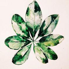 #waterblog #flowers #color #watercolor #цветы #акварель #рязань