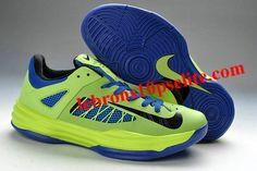 official photos e9131 a5ab2 Nike Lunar Hyperdunk X Low 2012 Fluorescent Green Blue New Jordans Shoes,  Kd 6
