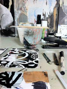 studio table 2014 by l o r n a c r a n e