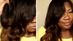 How to Ombre Milky Way 100% Human Hair Weave