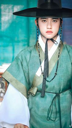Cr : adnamlya Do kyungsoo Kyungsoo, Chen, Korean Traditional, Traditional Outfits, K Pop, Kai Exo, Exo Official, Art Japonais, Exo Ot12