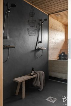 Scandi Home, Scandinavian Home, Bathroom Interior Design, Interior Decorating, Sauna Design, Laundry Room Bathroom, Steam Room, Home Renovation, Building A House