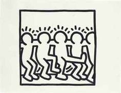 """kaitlyntoast:""""Animated another piece by Keith Haring. Principles Of Art Unity, Keith Allen, Keith Haring Art, Modern Pop Art, Arte Popular, Drawing Skills, Art Plastique, Elementary Art, Animal Design"""