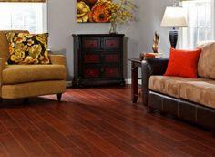 Living cherry wood floor design ideas pictures remodel for Nirvana plus laminate flooring installation