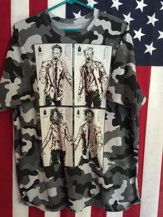 Fifth Sun Camouflage Zombie Target Practice Short Sleeve T Shirt Size x  Large  c043de72a2ba
