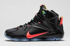 "Nike LeBron 12 ""Data"" (Detailed Pics & Release Info)"