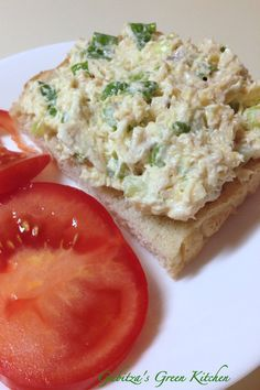 Smoked Trout Salad With Smoked Trout, Celery, Green Onions, Mayonnaise, Sour Cream Quinoa, Smoked Trout Salad, Salad Recipes Video, Mayonnaise, Sour Cream, Kale, Celery, Food Videos, Risotto