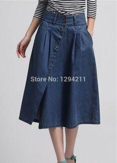 falda de mezclilla - Pesquisa Google