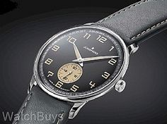 Junghans Meister Driver Hand Wind Black Dial