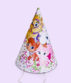 Celebrate with Disney: Palace Pets party ideas. Palace Pets Party Hats.