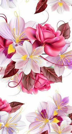 New wall paper phone pink design 49 Ideas Pink Wallpaper Iphone, Butterfly Wallpaper, Colorful Wallpaper, Cellphone Wallpaper, Nature Wallpaper, Art Floral, Motif Floral, Floral Prints, Flower Backgrounds