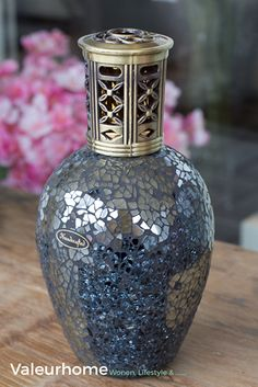 Ashleigh & Burwood Fragrance lamp Steel Atlas