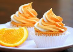 Recipe Snobs: Orange Cream Pop Cupcakes