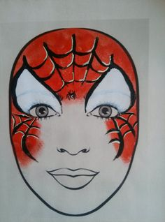 1000 images about gezicht schminken on pinterest face paintings spiderman and butterfly face. Black Bedroom Furniture Sets. Home Design Ideas