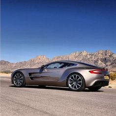 It's my favourite ONE!- Aston Martin ONE-77! Stunning!