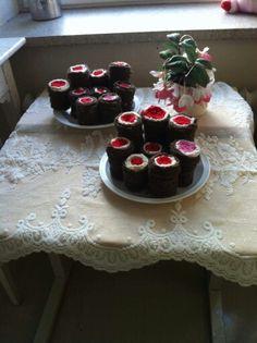 Toteutus: Salla Laari-Abdulhamed Cake, Desserts, Food, Runes, Tailgate Desserts, Deserts, Food Cakes, Eten, Cakes