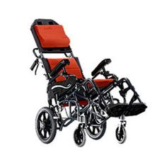 Karma Healthcare VIP-515 Tilt-in-Space Wheelchair uses exclusive perfectly-matched gas strut for an intelligent center-of-gravity weight shifting seat to provide wheelchair users a wide choice of tilt-in-space angles.