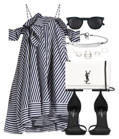 """Untitled #12283"" by vany-alvarado ❤ liked on Polyvore featuring MSGM, Yves Saint Laurent and MICHAEL Michael Kors"