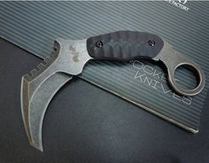 Buy Doomsday Devil - 60HRC Tactical Combat Karambit Claw - Military Attack Fighting Knives & Camping Hunting Knives & Pocket Knife from madeinchina wholesaler on ShopMadeInChina