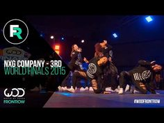 NXG Company 3rd Place Finals | FRONTROW | World of Dance Finals 2015 | #WODFINALS15 - YouTube
