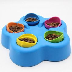 Training Pet IQ Puzzle Turntable Bowl Fill Chew Toy Best Treat Dispensing Cat Toy Dishwasher Safe for Puppy * Read more at the image link. (This is an affiliate link) Iq Puzzle, Puzzle Toys, Smart Dog Toys, Dog Puzzles, Food Bowl, Slow Food, Pet Bowls, Cat Toys, Food Dishes