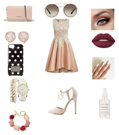 """""""Hello peeps"""" by jaydenloveyourstyle04 ❤ liked on Polyvore featuring Charlotte Russe, Givenchy, Prada, Monica Vinader, Oscar de la Renta, MICHAEL Michael Kors and Lime Crime"""