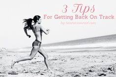 3 tips that will get you to the gym ASAP!...need this to get back on track post-wedding and honeymoon!