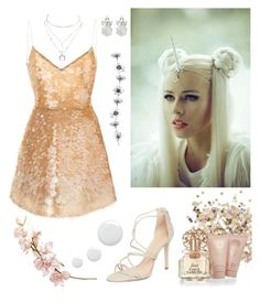 """Unicorn #2"" by elenamaria29 ❤ liked on Polyvore featuring Topshop, Vince Camuto, Schutz, Charlotte Russe and Monique Lhuillier"