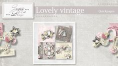 Lovely vintage quickpages by Jessica art-design