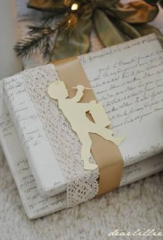Beautifully wrapped Christmas gifts